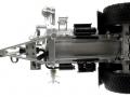 Wiking 077338 - Fliegl Vakuumfasswagen mit Güllegrubber unten