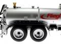 Wiking 077338 - Fliegl Vakuumfasswagen mit Güllegrubber