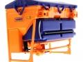 Wiking 077389 - Traktorstreuer Schmidt Traxos FS 12 untne hinten links