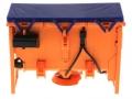 Wiking 077389 - Traktorstreuer Schmidt Traxos FS 12 vorne
