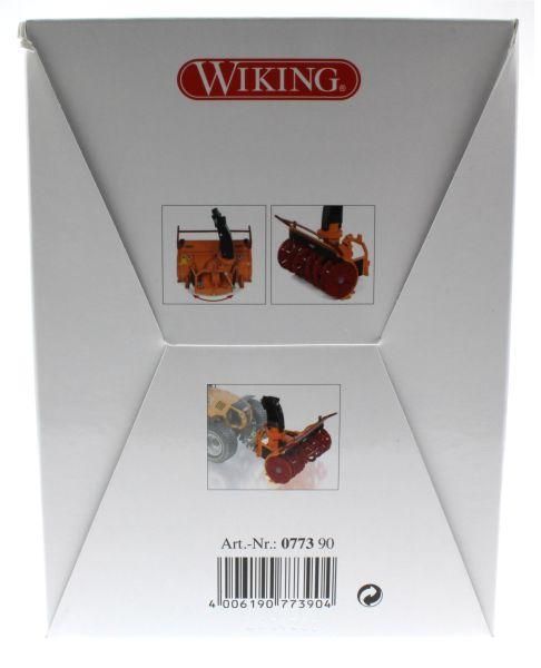 Wiking 077390 - Anbau-Frässchleuder Schmidt FS 105-265 Karton hinten