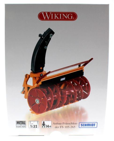 Wiking 077390 - Anbau-Frässchleuder Schmidt FS 105-265 Karton vorne