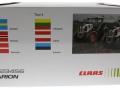 Wiking 123456 - Claas Arion 123456 weiß Ländertour Agritechnica 2015 Karton hinten