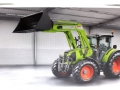 Wiking 1709570 - Claas Arion 450 mit FL 120 Limited Edition Karton hinten