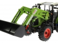 Wiking 1709570 - Claas Arion 450 mit FL 120 Limited Edition vorne links