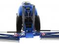 Wiking 1805026 - Lemken Pflanzenschutzspritze Vega 12 Blue Means Sprayer am Boden