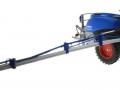 Wiking 1805026 - Lemken Pflanzenschutzspritze Vega 12 Blue Means Sprayer lang