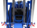 Wiking 1805026 - Lemken Pflanzenschutzspritze Vega 12 Blue Means hinten