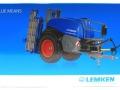 Wiking 1805026 - Lemken Pflanzenschutzspritze Vega 12 Blue Means Karton vorne