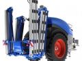 Wiking 1805026 - Lemken Pflanzenschutzspritze Vega 12 Blue Means unten hinten