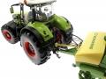 Wiking 7302 und 7314 - Claas Axion 950 und Krone ZX 450 GL Trecker