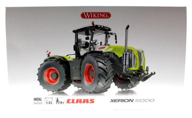 Wiking 7308 - Claas Xerion 5000 Karton vorne