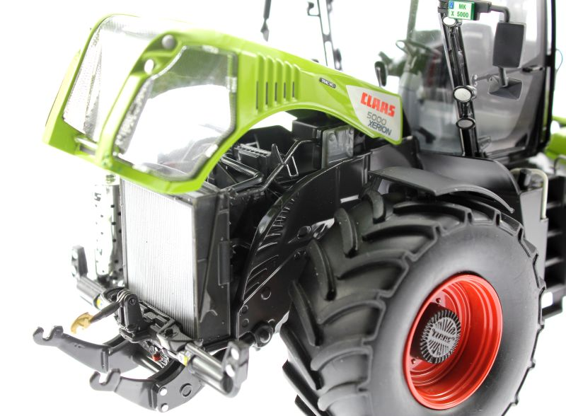 Wiking 7308 - Claas Xerion 5000 Motor links