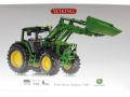 Wiking 7309 - John Deere Traktor 7430 Karton vorne