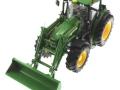 Wiking 7309 - John Deere Traktor 7430 oben vorne links