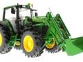 Wiking 7309 - John Deere Traktor 7430 unten vorne rechts