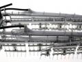 Wiking 7311 - Samson Fasswagen SG 28 Anbau links