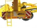 Wiking 7312 - ROPA EuroMaus 4 Rübenernter hinten nah