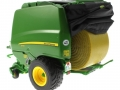Wiking 7316 - John Deere Rundballenpresse 990 hinten links