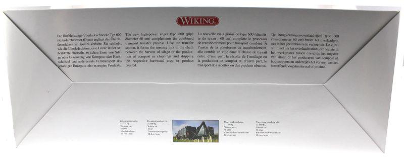 Wiking 7317 - Fliegl Abschiebewagen ASW 391 mit Überladeschnecke Karton hinten