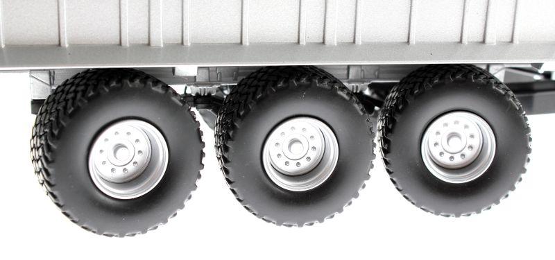 Wiking 7317 - Fliegl Abschiebewagen ASW 391 mit Überladeschnecke Reifen