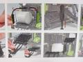 Wiking 7320 - Claas Rollant 455 Uniwrap Karton innen
