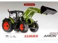 Wiking 7325 - Claas Arion 650 mit Frontlader Karton vorne