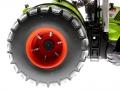Wiking 7328 - Claas Axion 950 mit Zwillingsreifen Reifen nah