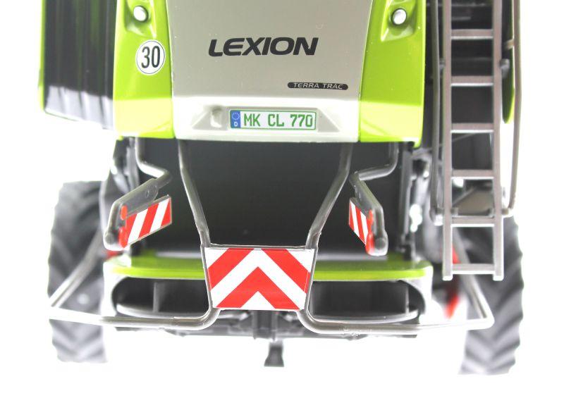 Wiking 077329 - Mähdrescher Claas Lexion 770 hinten unten
