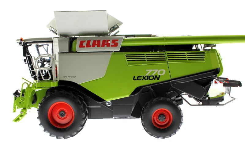 Wiking 077329 - Mähdrescher Claas Lexion 770 links