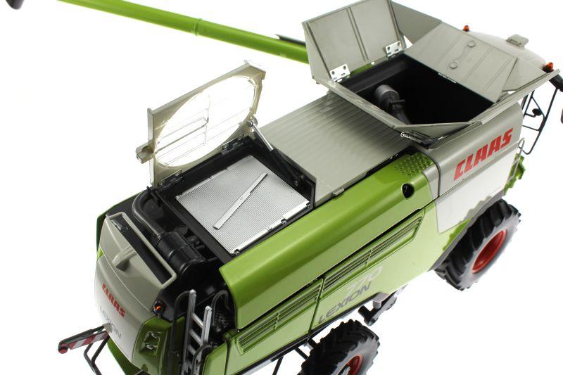 Wiking 077329 - Mähdrescher Claas Lexion 770 oben abluft