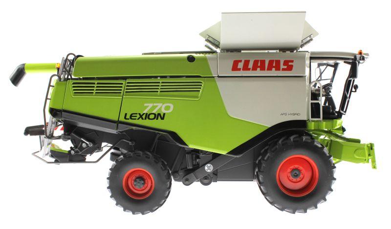 Wiking 077329 - Mähdrescher Claas Lexion 770 rechts