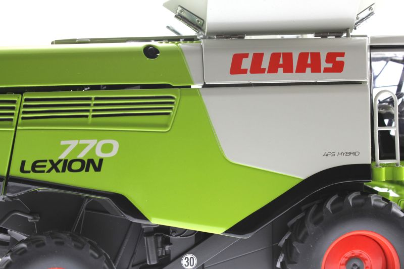 Wiking 077329 - Mähdrescher Claas Lexion 770 Logo
