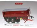 Wiking 7335 - Krampe Big Body 650 mit Rollplane Karton vorne