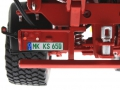 Wiking 7335 - Krampe Big Body 650 mit Rollplane Nummernschild