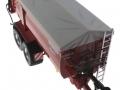 Wiking 7335 - Krampe Big Body 650 mit Rollplane oben vorne rechts