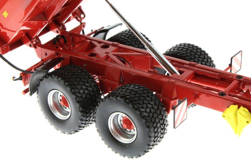 Wiking 7335 - Krampe Big Body 650 mit Rollplane Kipphydraulik