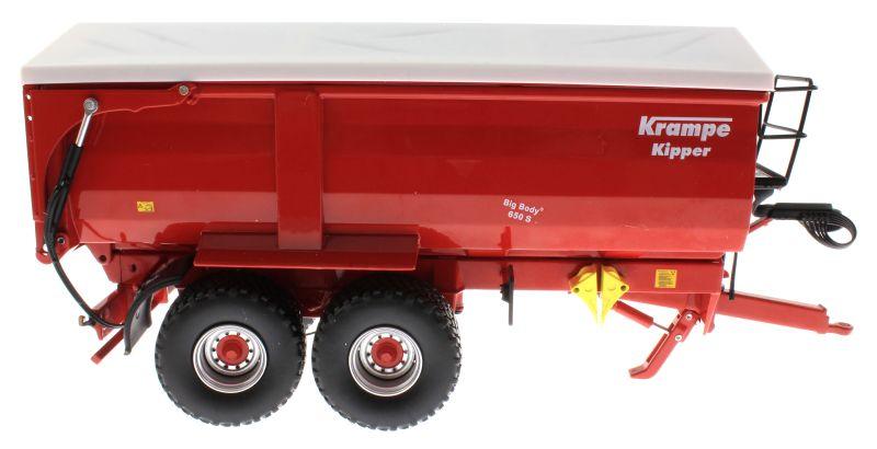 Wiking 7335 - Krampe Big Body 650 mit Rollplane