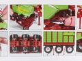 Wiking 7336 - Strautmann Tera Vitesse Ladewagen Karton innen