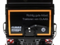 Wiking 7339 black - Krampe Kipper Schwarz - Traktoren von Claas hinten