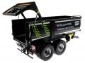 Wiking 7339 black - Krampe Kipper Schwarz - Traktoren von Claas Heckklappe offen