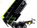 Wiking 7339 black - Krampe Kipper Schwarz - Traktoren von Claas gekippt rechts