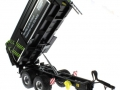 Wiking 7339 black - Krampe Kipper Schwarz - Traktoren von Claas gekippt vorne rechts