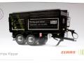 Wiking 7339 black - Krampe Kipper Schwarz - Traktoren von Claas Karton vorne