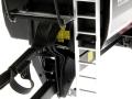 Wiking 7339 black - Krampe Kipper Schwarz - Traktoren von Claas vorne nah