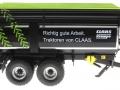 Wiking 7339 black - Krampe Kipper Schwarz - Traktoren von Claas