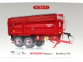 Wiking 7339 - Krampe Kipper Big Body 650 Karton vorne