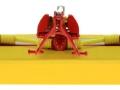 Wiking 7341 - Pöttinger Mähwerk Novacat V10 Frontmähwerk hinten