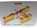 Wiking 7341 - Pöttinger Mähwerk Novacat V10 Karton vorne