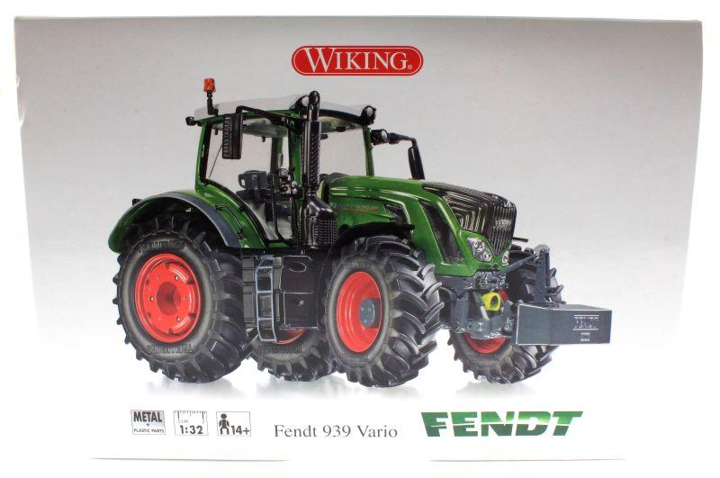 Wiking 7343 - Fendt 939 Vario 2014 Karton vorne